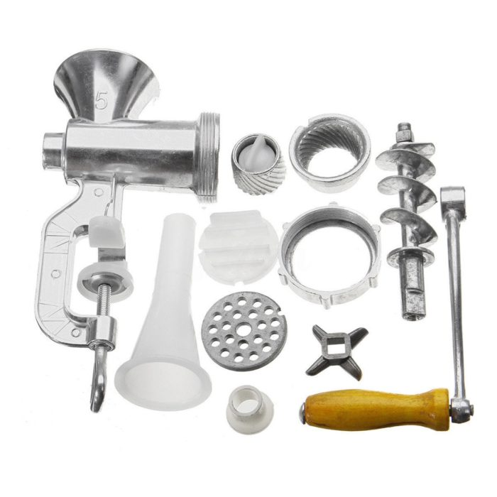 Manual Meat Grinder Crank Mincer