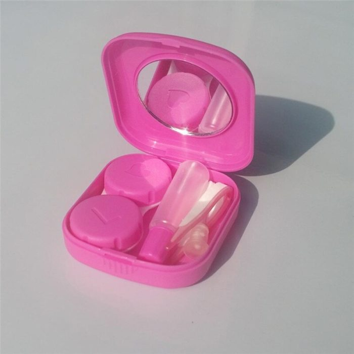 Contact Lens Case Travel Box Kit