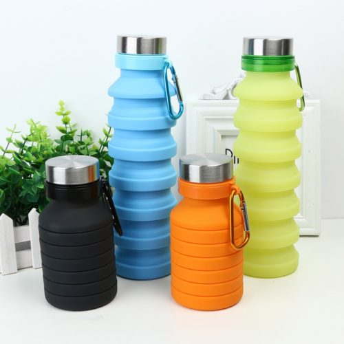 Foldable Water Bottle Silicone