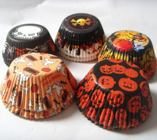 Cupcake Liners Halloween Designs