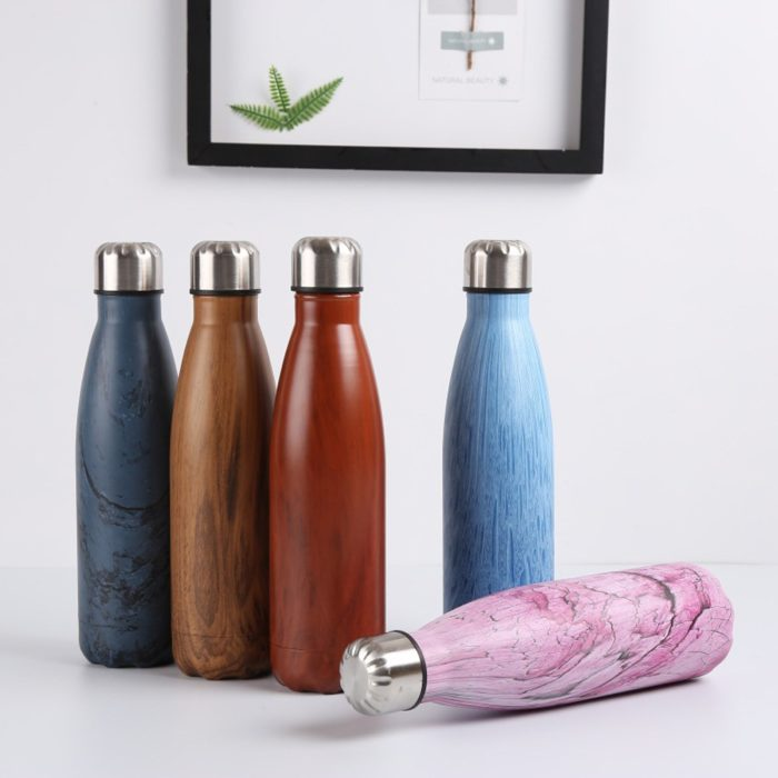 Insulated Water Bottle Stainless Steel Flask