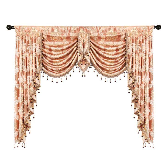 Valance Curtain Royal Luxury Design