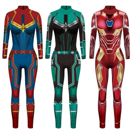 Superhero Costumes For Women Jumpsuit