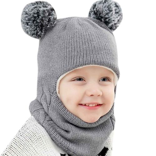 Kids Winter Hats Knitted Bonnet