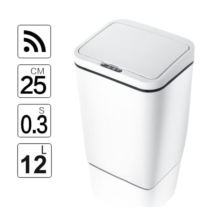 Automatic Trash Can Motion Sensor Bin