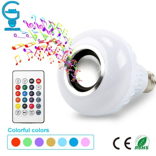 Light Bulb Speaker Bluetooth Light