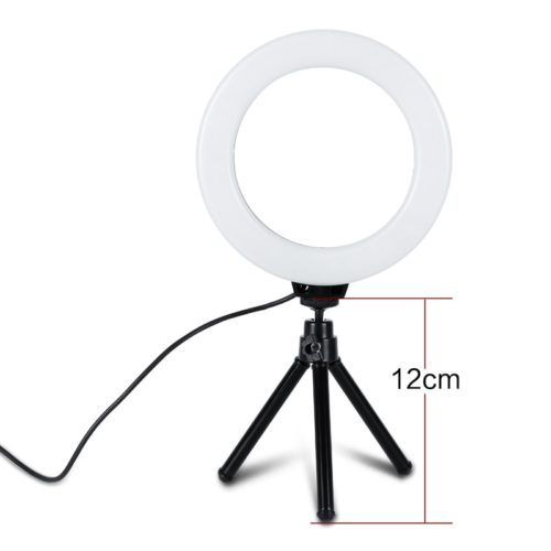"LED Ring Light 6"" Dimmable Light"