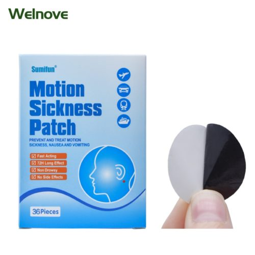 Nausea Patch Motion Sickness Reliever