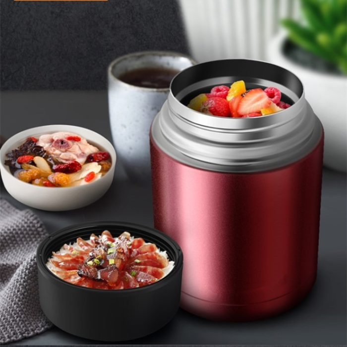 Thermos Food acContainer Portable Lunch Box