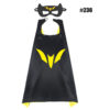 Superhero Capes and Masks Cosplay Costume