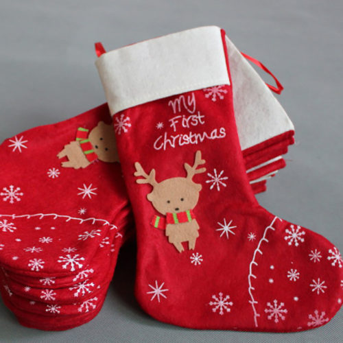 Christmas Stocking Lovely Holiday Decoration