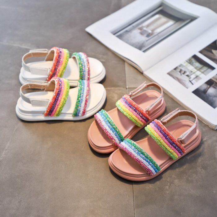 Sandals For Girls Colorful Slippers