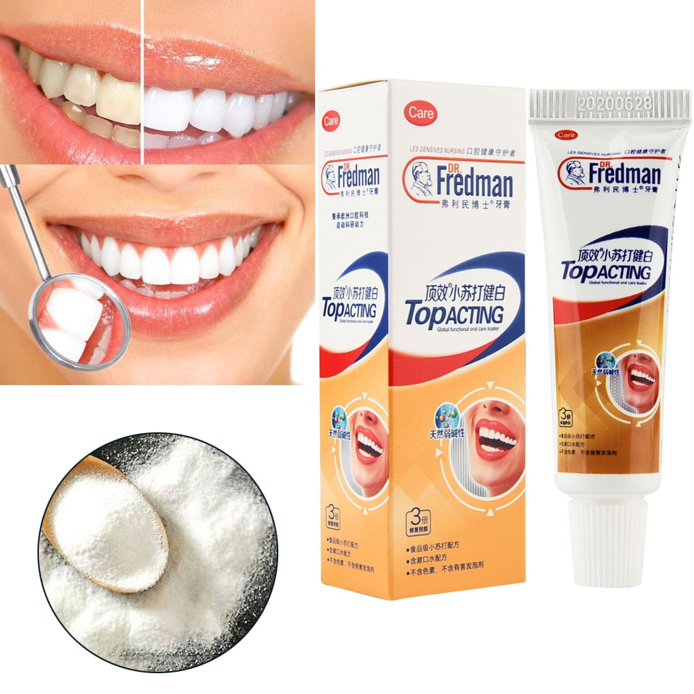 Teeth Whitening Toothpaste Baking Soda Life Changing Products