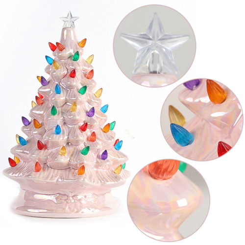 Ceramic Christmas Tree Mini DecorCeramic Christmas Tree Mini Decor