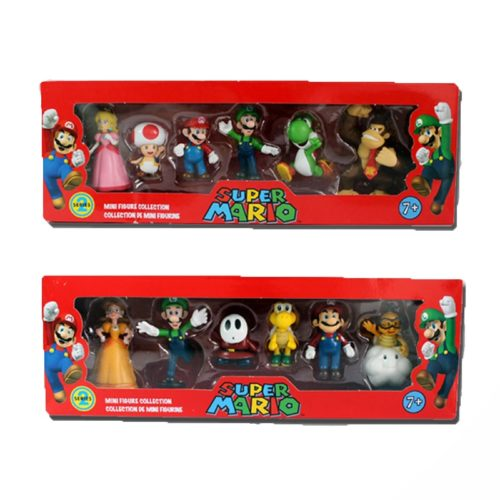 Super Mario Toys Action Figures