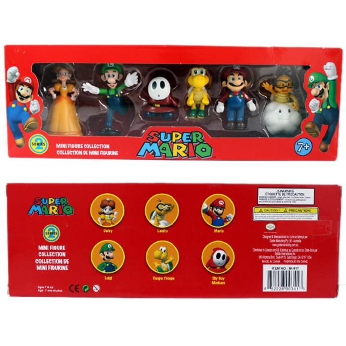 Super Mario Toys Action Figures