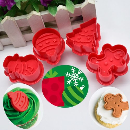 Christmas Cookie Cutters Baking Mold