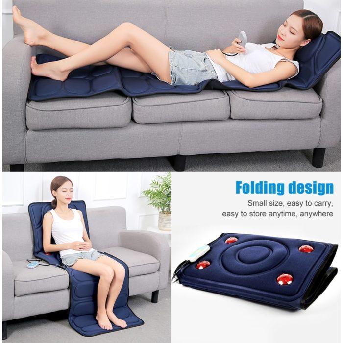 Massage Mattress Electric Massager Bed