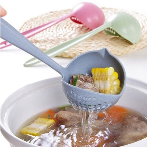 Ladle Soup Long Handle Strainer