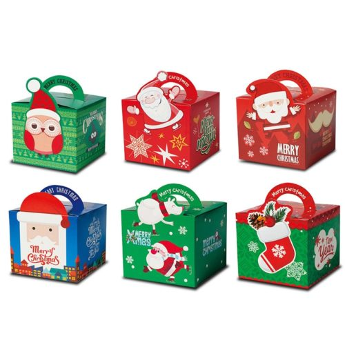 Christmas Gift Boxes Goodies Bag
