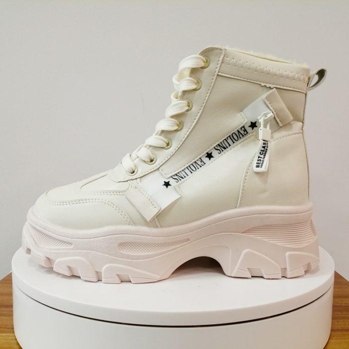 Ladies Winter Boots Durable Footwear