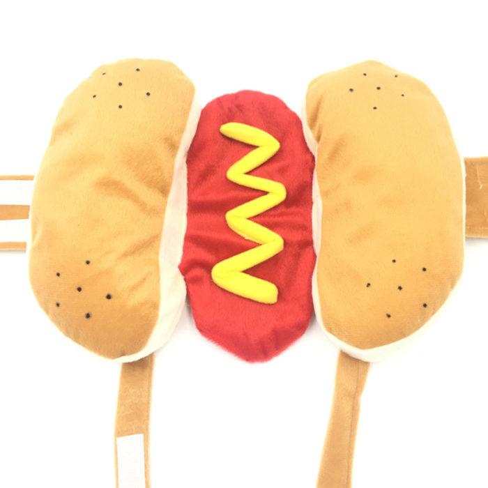 Hot Dog Dog Costume Polyester Cloth