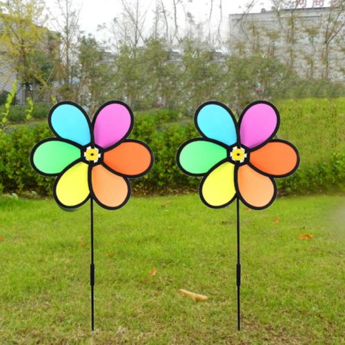 Garden Wind Spinner Outdoor Decor
