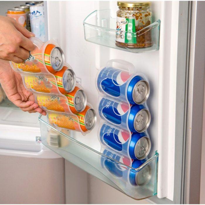 Can Organizer Kitchen Fridge Storage