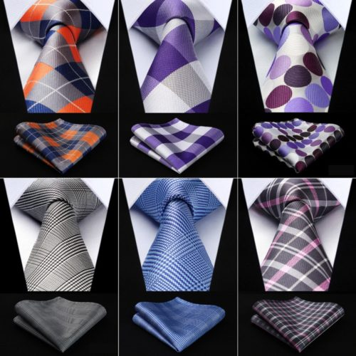 Tie and Pocket Square Set Accessories
