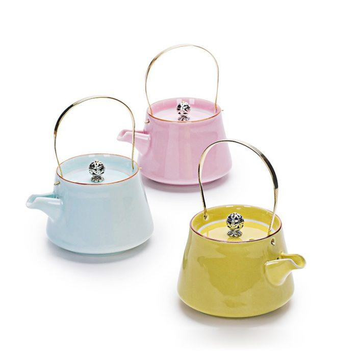 Porcelain Teapot Durable Container