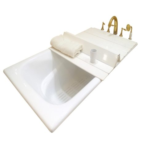 Bathtub Cover Foldable Bath Accessory
