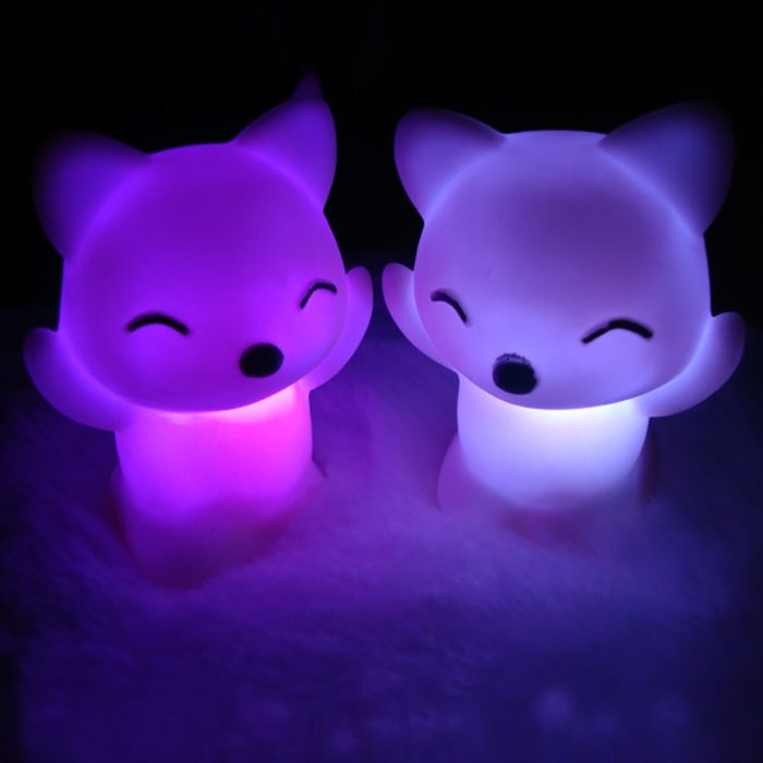 Bedroom Night Light Color Changing Lamp