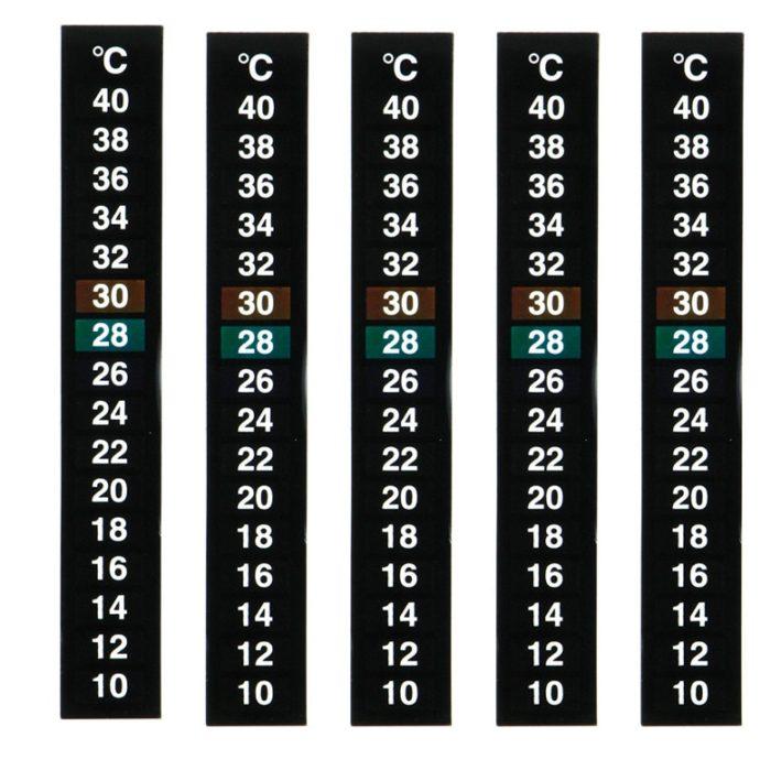 Fish Tank Thermometer Temperature Sticker