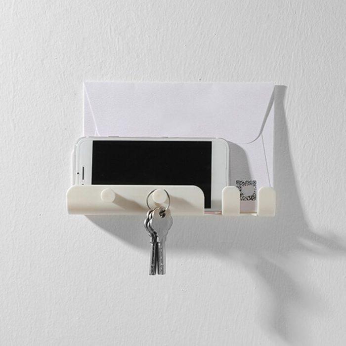 Wall Phone Holder Self-Adhesive
