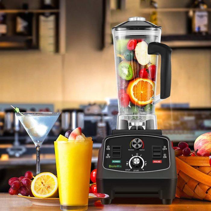 Kitchen Blender With Timer Function