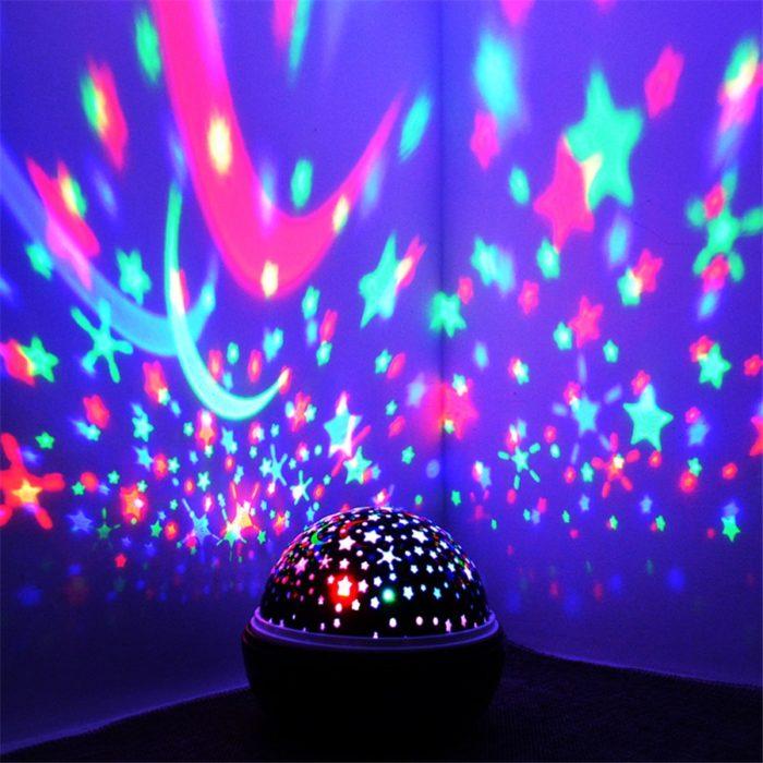 LED Night Lamp Projector Light
