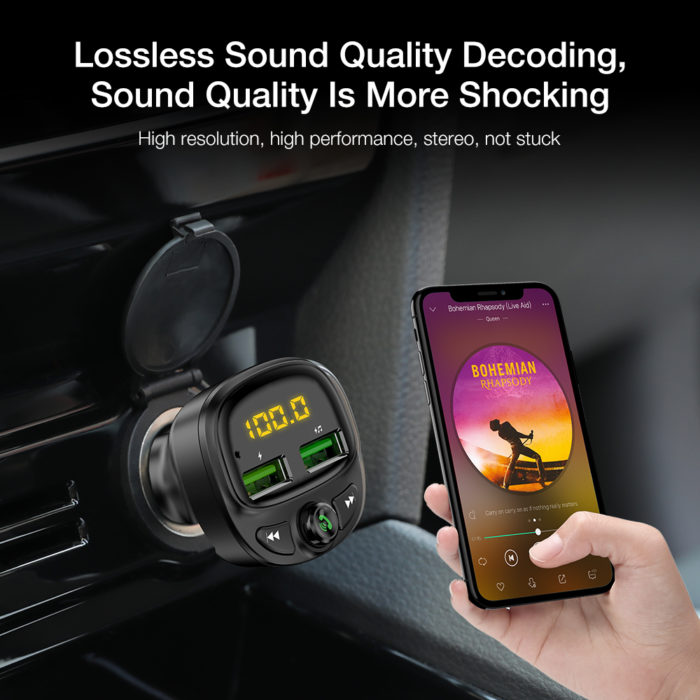 Car USB Phone Charger Adapter