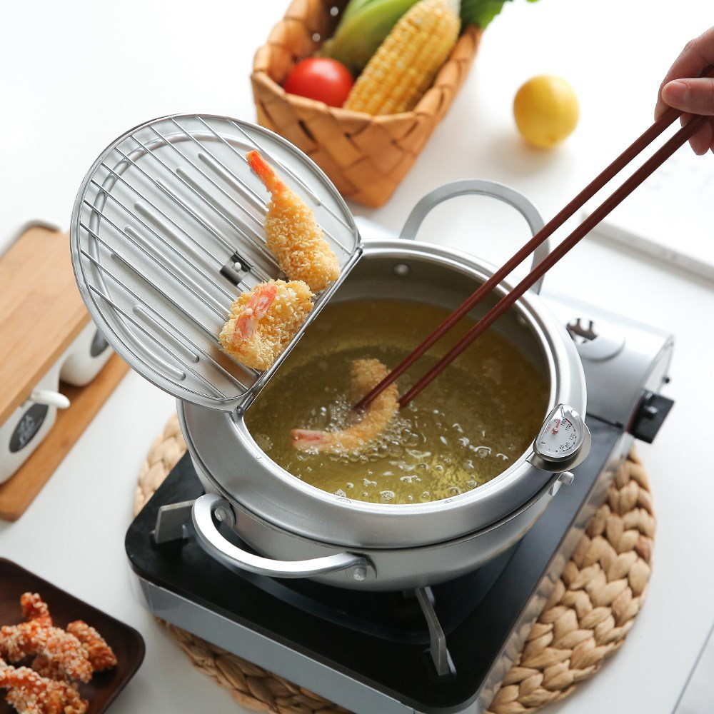 Deep Fryer Pot Cooking Tools: Make Cooking Easy