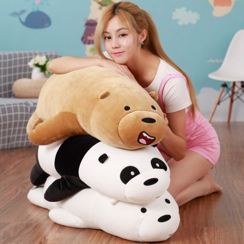 We Bare Bears Stuffed Toy Soft Plush