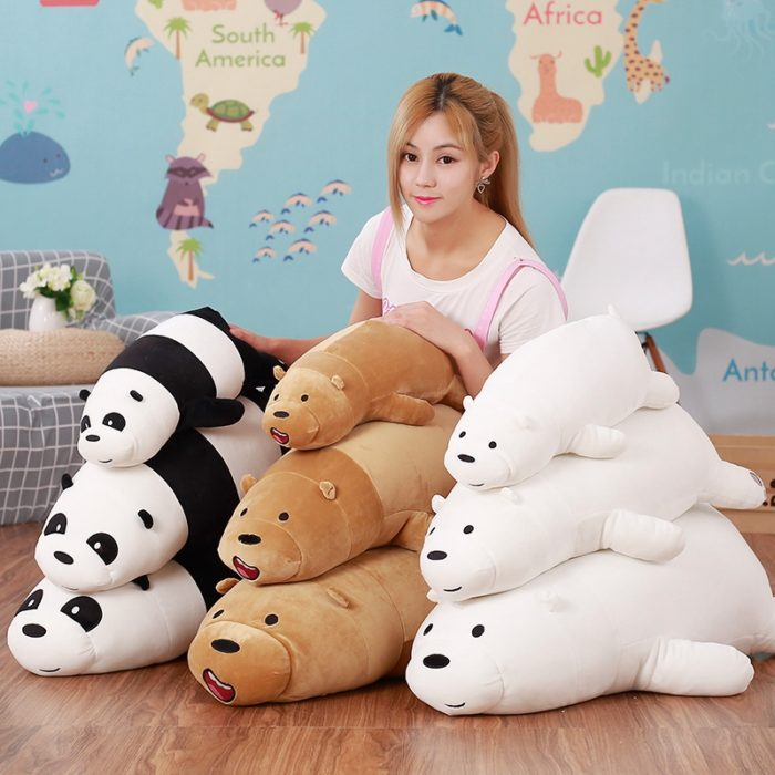 We Bare Bears Stuffed Toy Soft Plush Toys