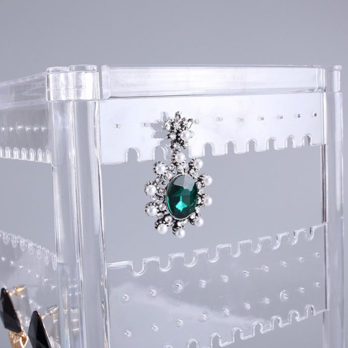 Earring Stand Acrylic Jewelry Organizer