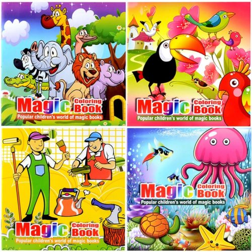 Magic Coloring Book Interactive Educational