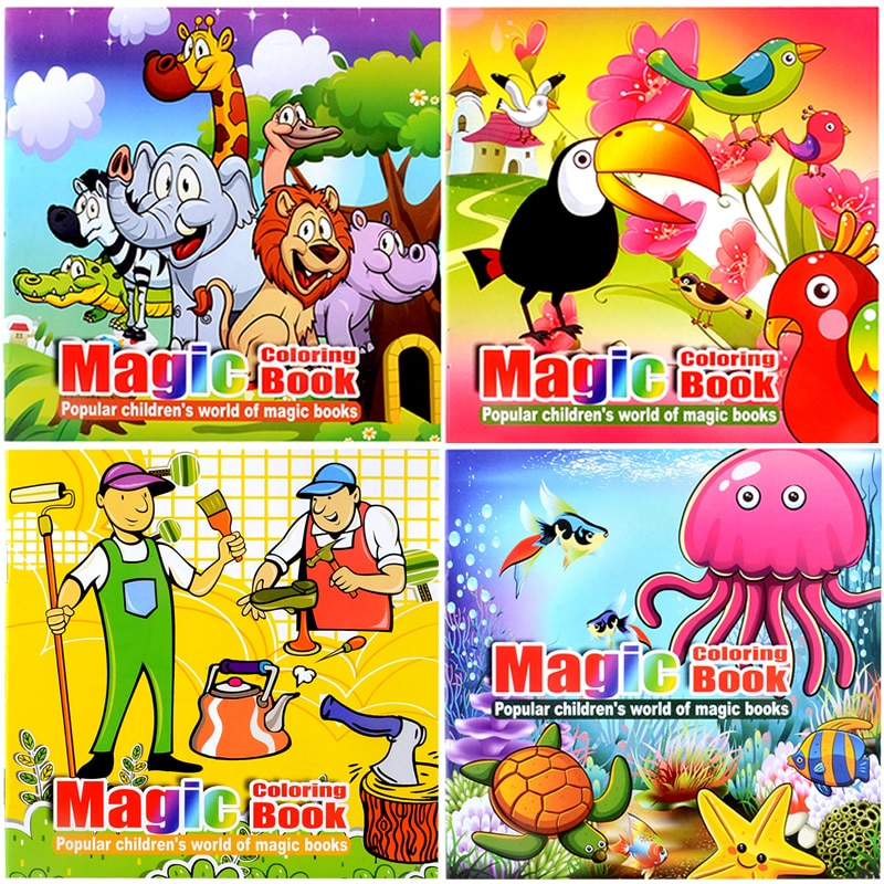 Magic Coloring Book Interactive Educational Life Changing Products