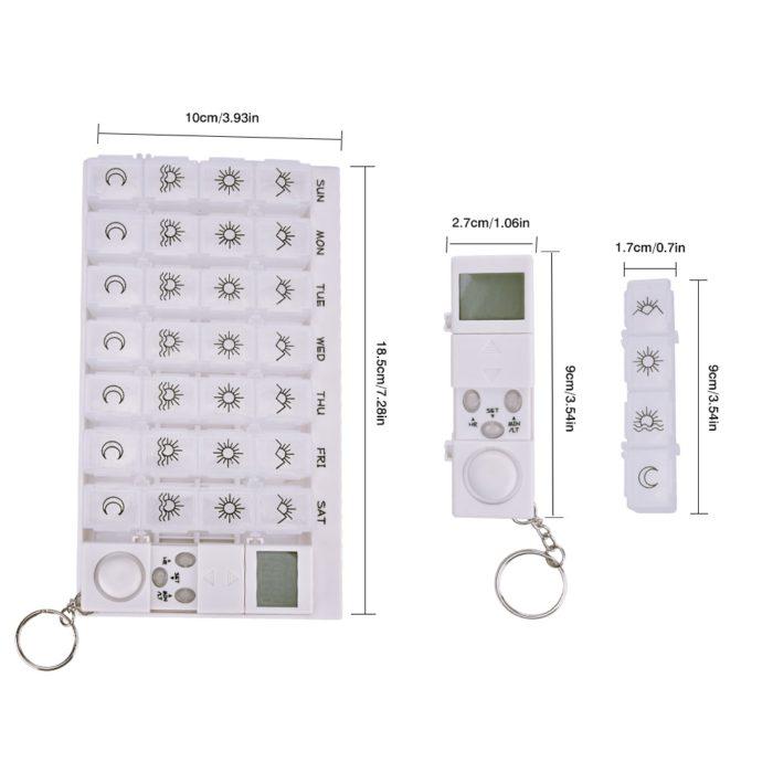 Automatic Pill Dispenser Alarm Clock