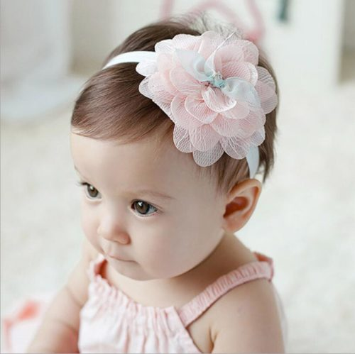 Baby Flower Headband Girls Headwear