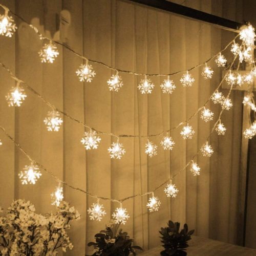 Snowflake Christmas Lights LED Lights