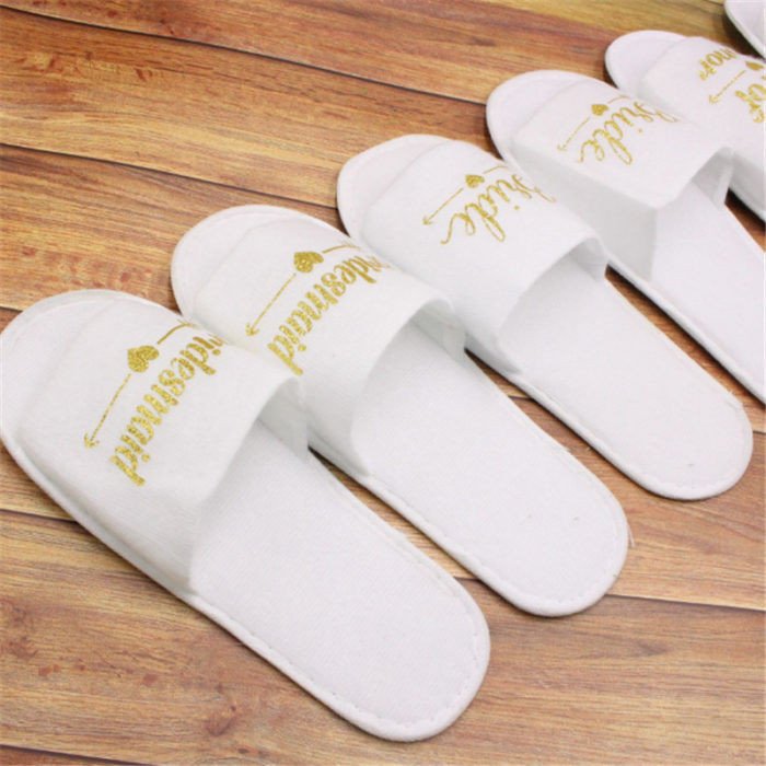Bridesmaid Slippers Wedding Preparation Accessory