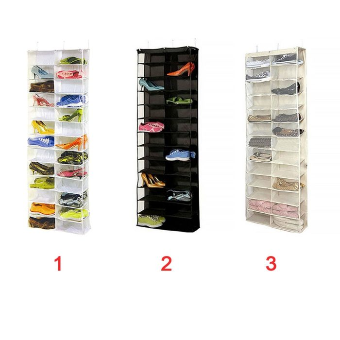 Hanging Shoe Organizer Portable Container