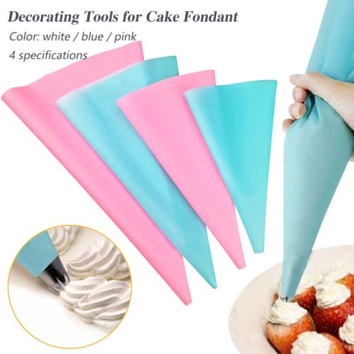 Frosting Bag Silicone Icing Piping Bag