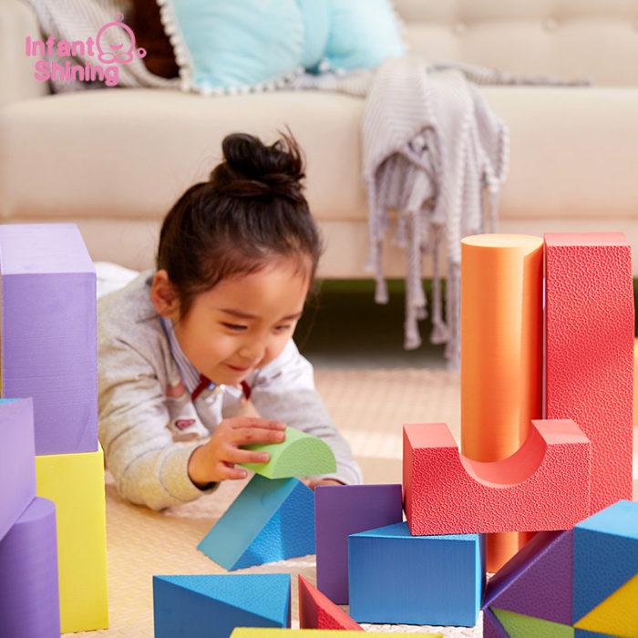 Building Blocks For Kids Soft EVA Foam Toys